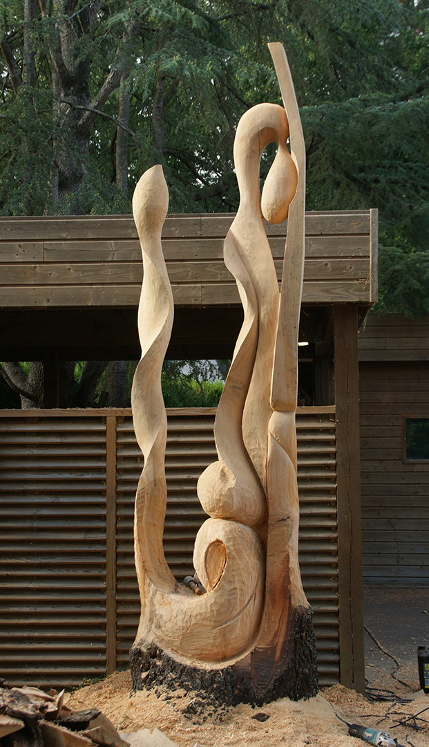 actualit s sculpture sur bois maine et loire sculptures bois. Black Bedroom Furniture Sets. Home Design Ideas
